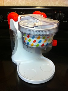 My son's first kitchen appliance!