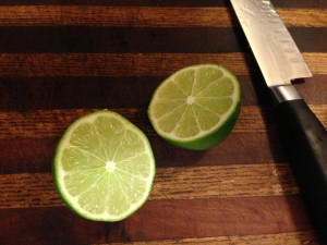 I can't help it...limes are just pretty.