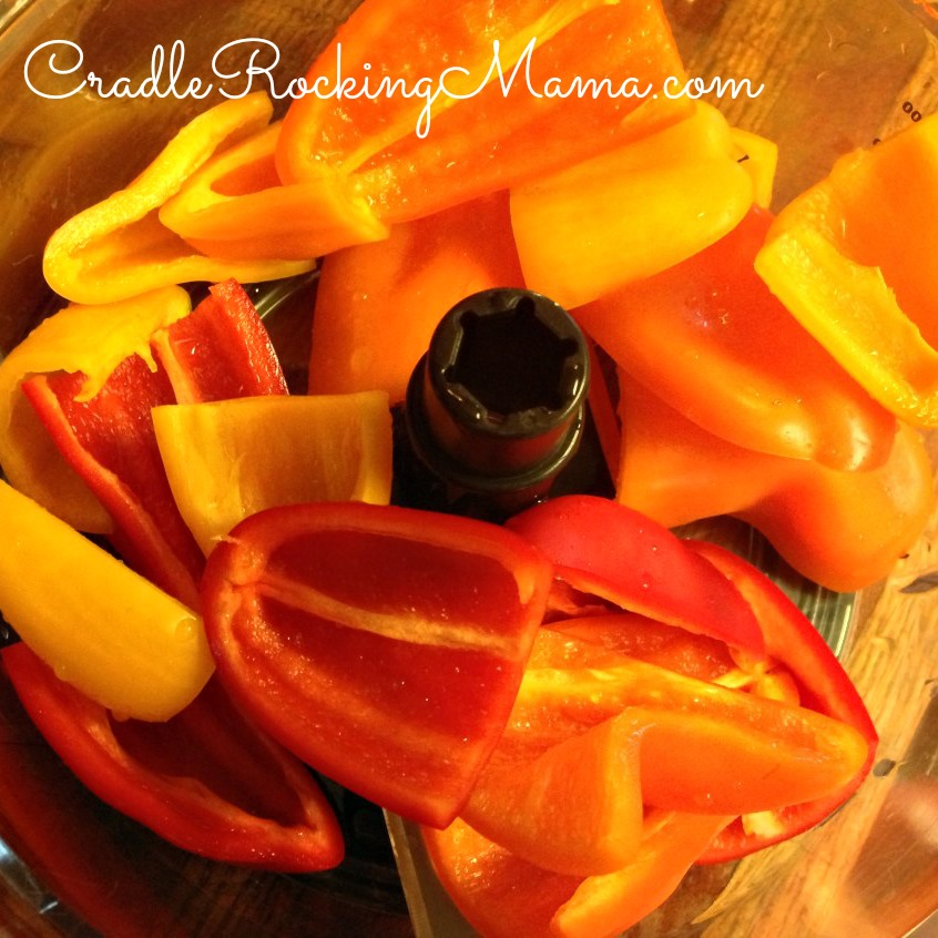 Peppers ready to process CradleRockingMama.com