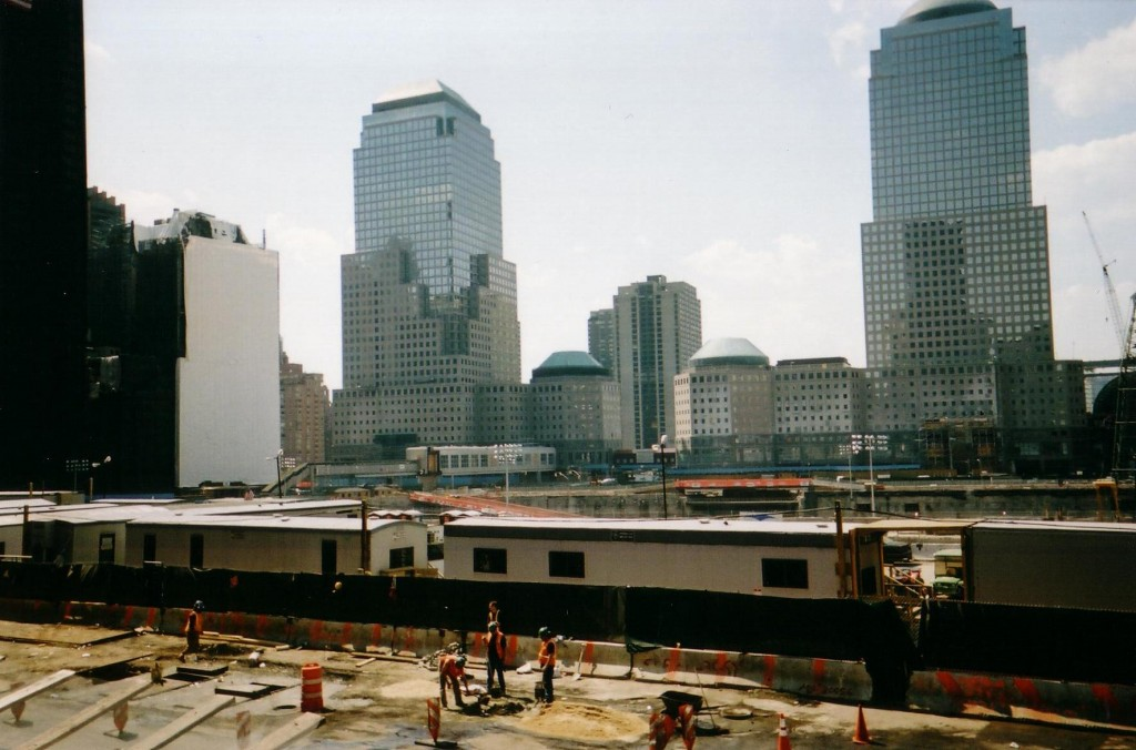 Late Spring 2002: Where the Towers Used to Stand