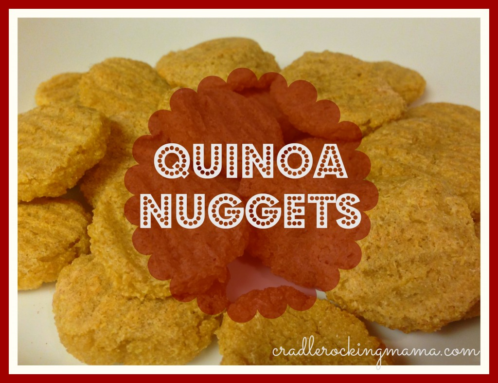 Quinoa Nuggets cradlerockingmama