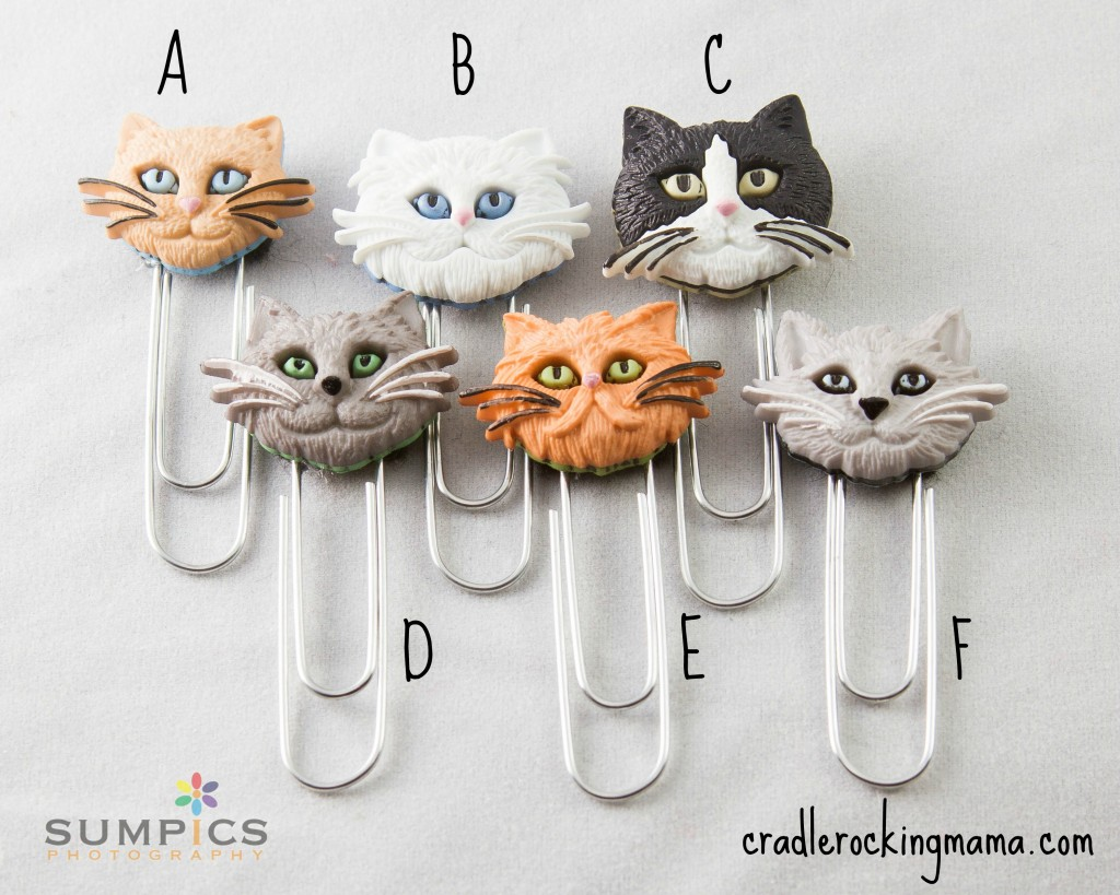 The Cat Bookmarks