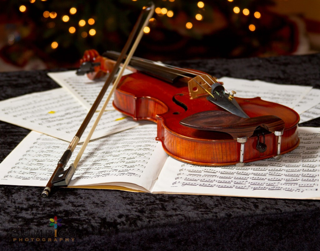 Violin Bokeh - one of Darrel's best sellers!