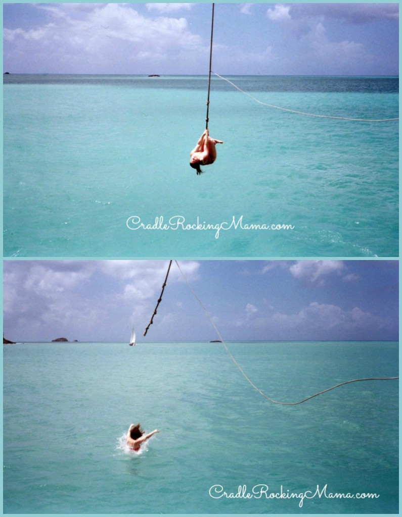 Next time I'm rope swinging off a boat in the Caribbean, I'll be doing it with Darrel!