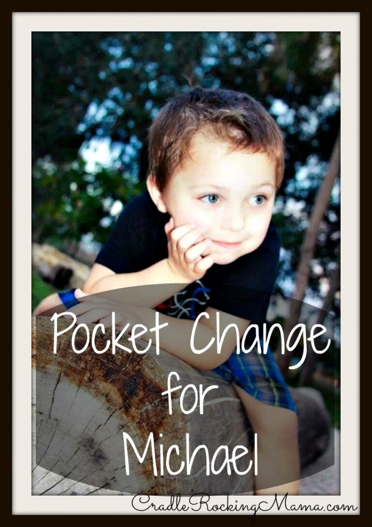 Pocket Change for Michael Gonzalez cradlerockingmama