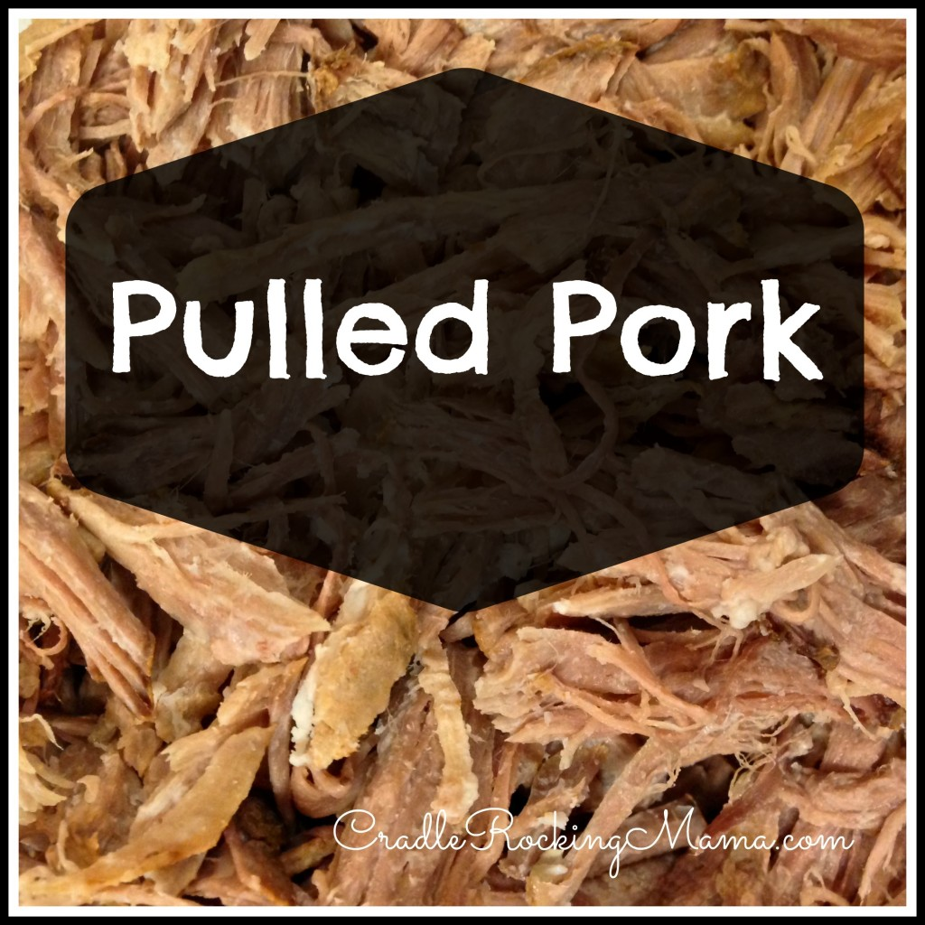 Pulled Pork cradlerockingmama.com