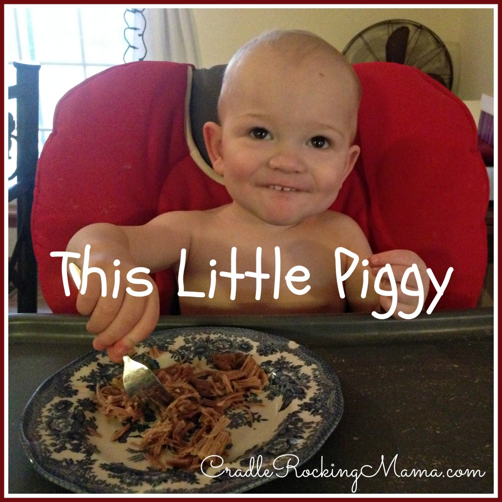 This Little Piggy cradlerockingmama