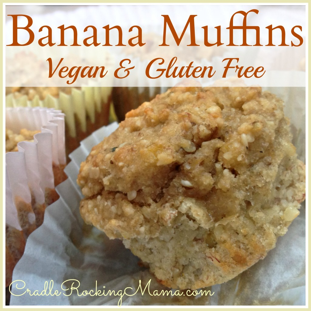 Vegan Banana Bread Muffins Recipe — Dishmaps