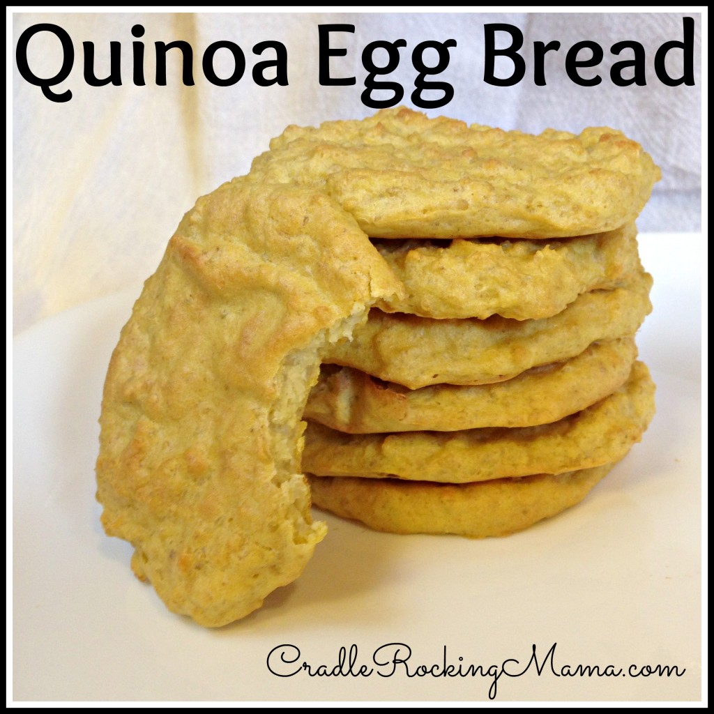 Quinoa Egg Bread CradleRockingMama.com