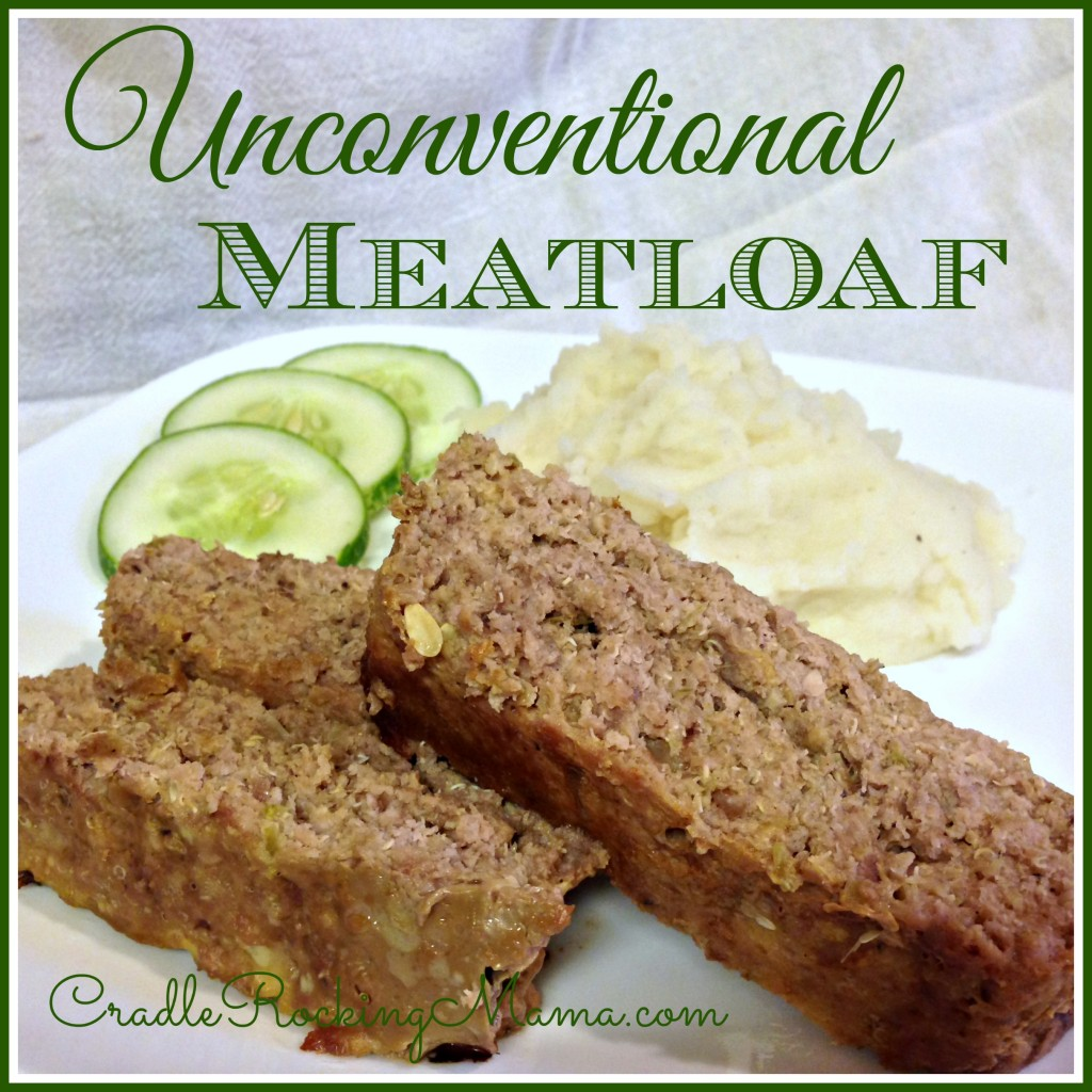 Unconventional Meatloaf CradleRockingMama.com