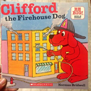 Clifford the Firehouse Dog CradleRockingMama.com