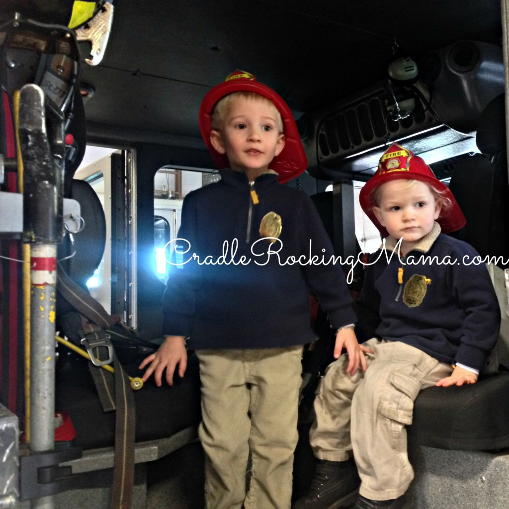Fire Fighters in Training CradleRockingMama.com