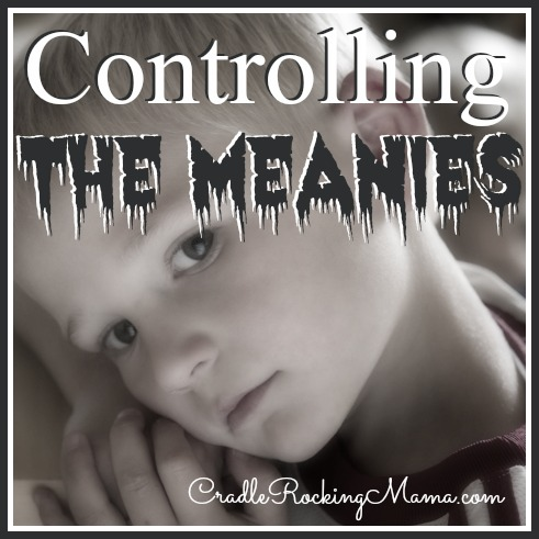 Controlling the Meanies CradleRockingMama.com