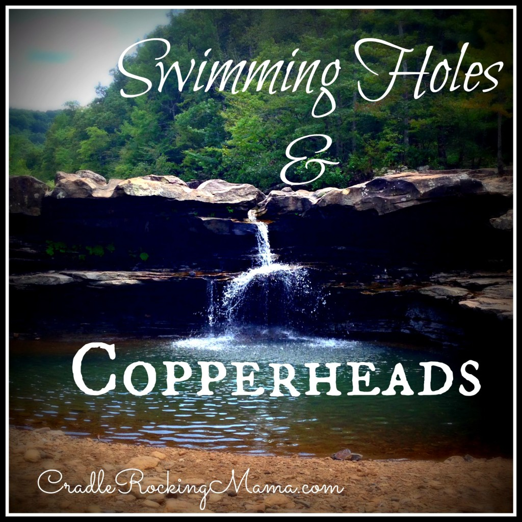 Swimming Holes and Copperheads CradleRockingMama.com