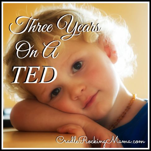 Three Years On A TED CradleRockingMama.com