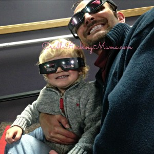 Getting Ready to Watch the 3D Movie CradleRockingMama.com